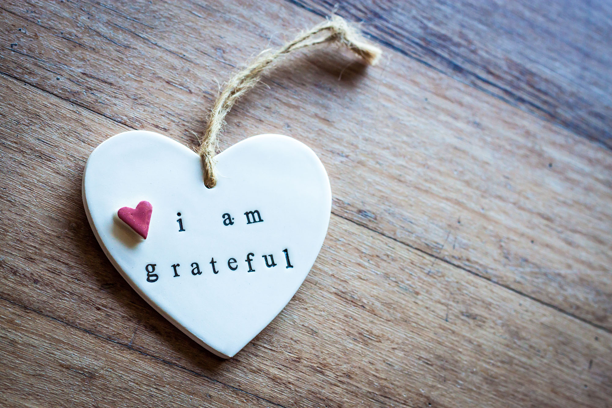 vděčnost jako nástroj hojnosti